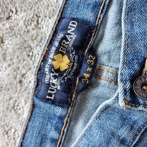Lucky Brand Jeans - Lucky Brand Jeans, 221 Original Straight in EUC
